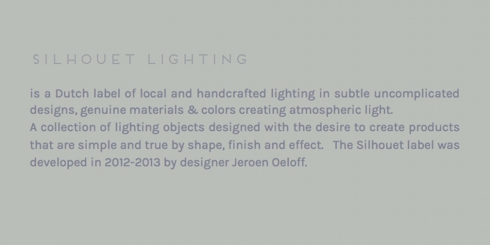 About Silhouet Lighting
